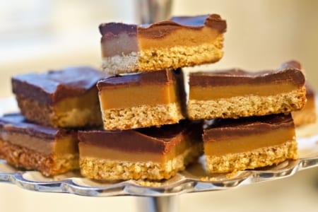 Contest Winner! Chocolate Caramel Shortbread Squares (a.k.a. Millionaire's Shortbread)