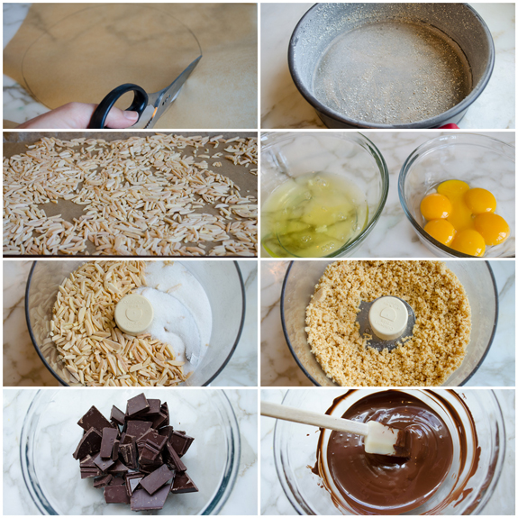 flourless-chocolate-cake-prep