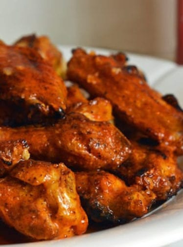 grilled buffalo wings
