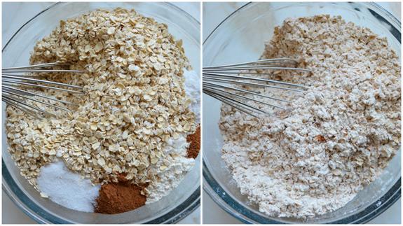 banana-oatmeal-cookies-dry-ingredients-