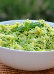 creamed zucchini