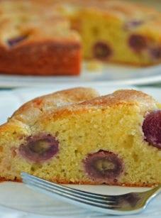 grape cake