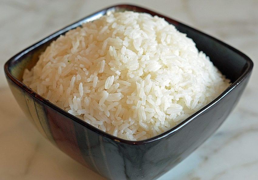 Ratio for jasmine rice