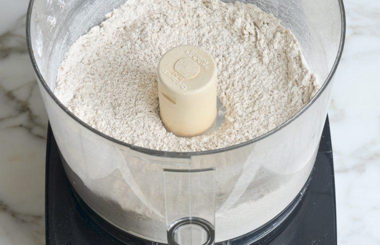 blended dry ingredients