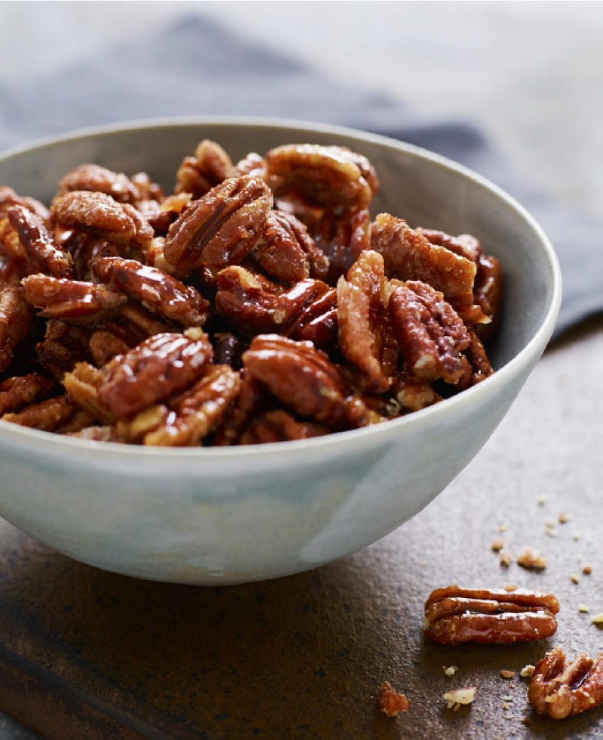 "Sweet, Spicy, Salty Candied Pecans (AKA ""Crack Nuts"")"