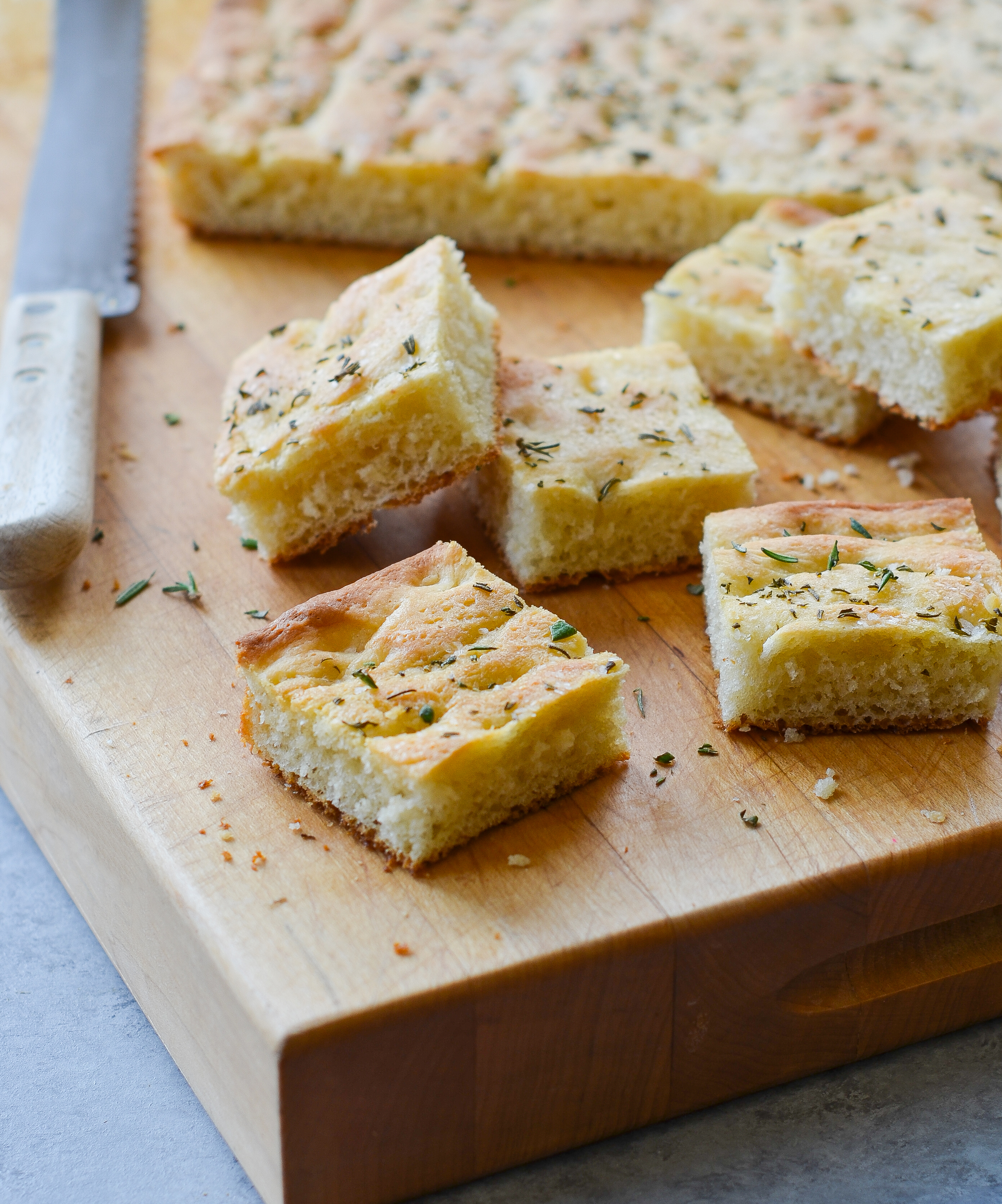 Rosemary Focaccia Once Upon A Chef