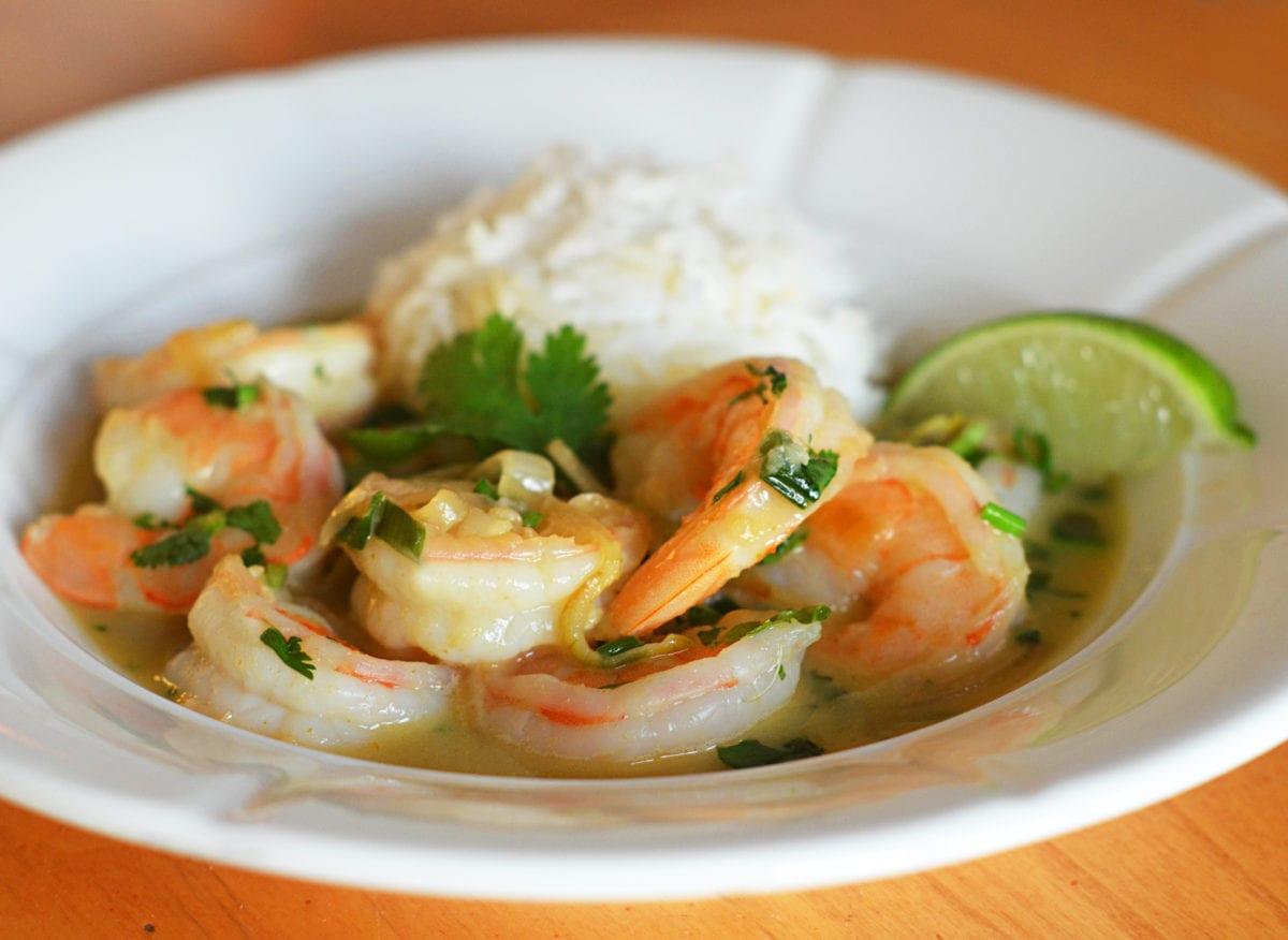 Easy Thai Shrimp Curry
