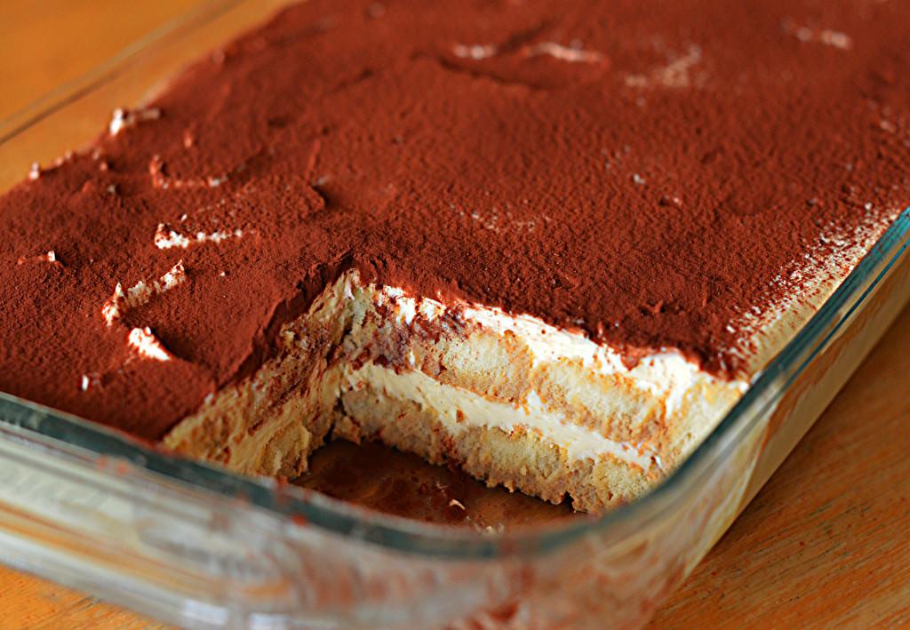 Irish Cream Tiramisu - Once Upon a Chef