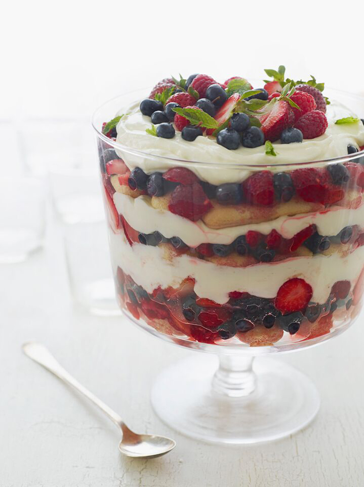 Summer Berry Trifle Once Upon A Chef