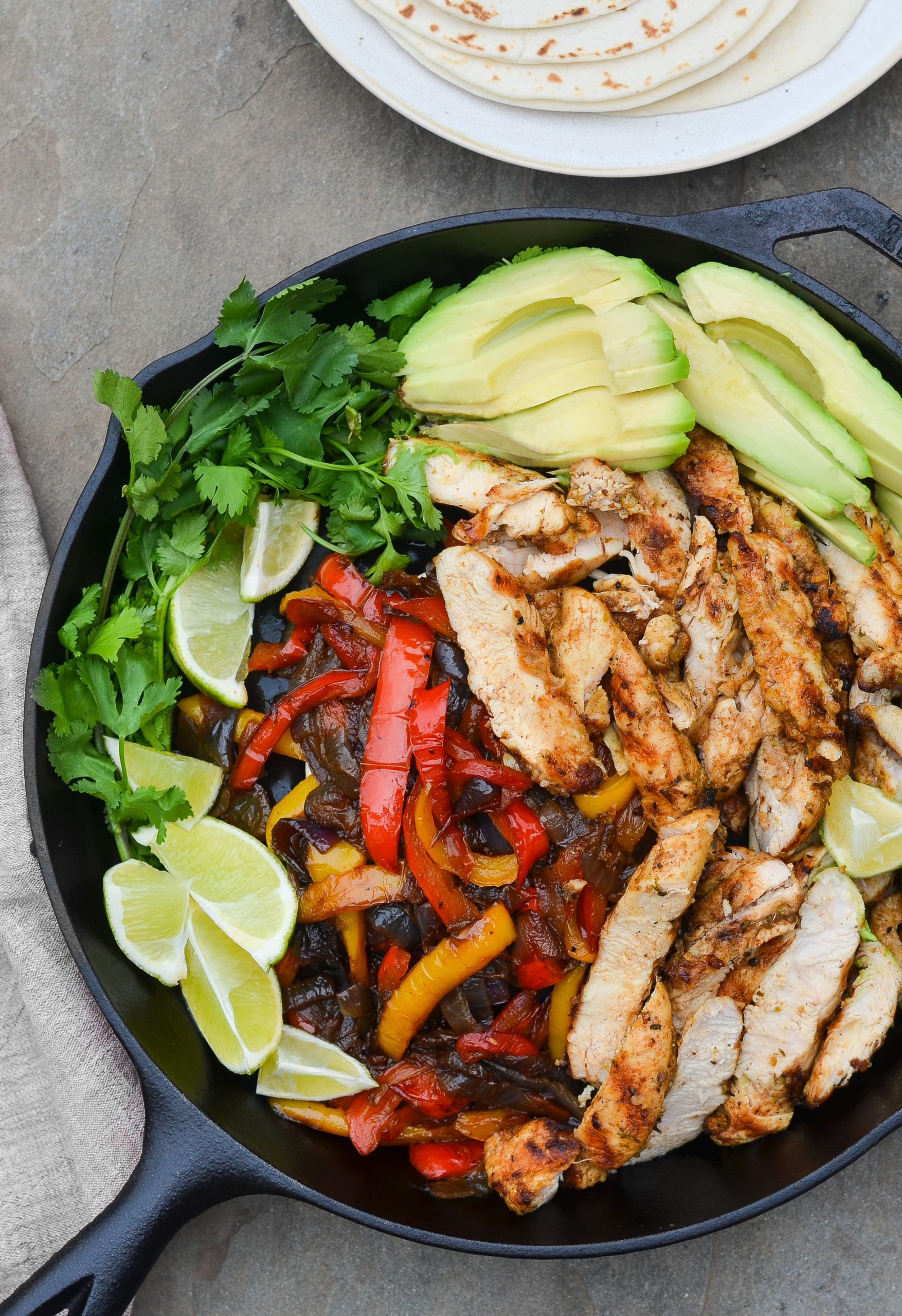 Grilled Chicken Fajitas Once Upon A Chef