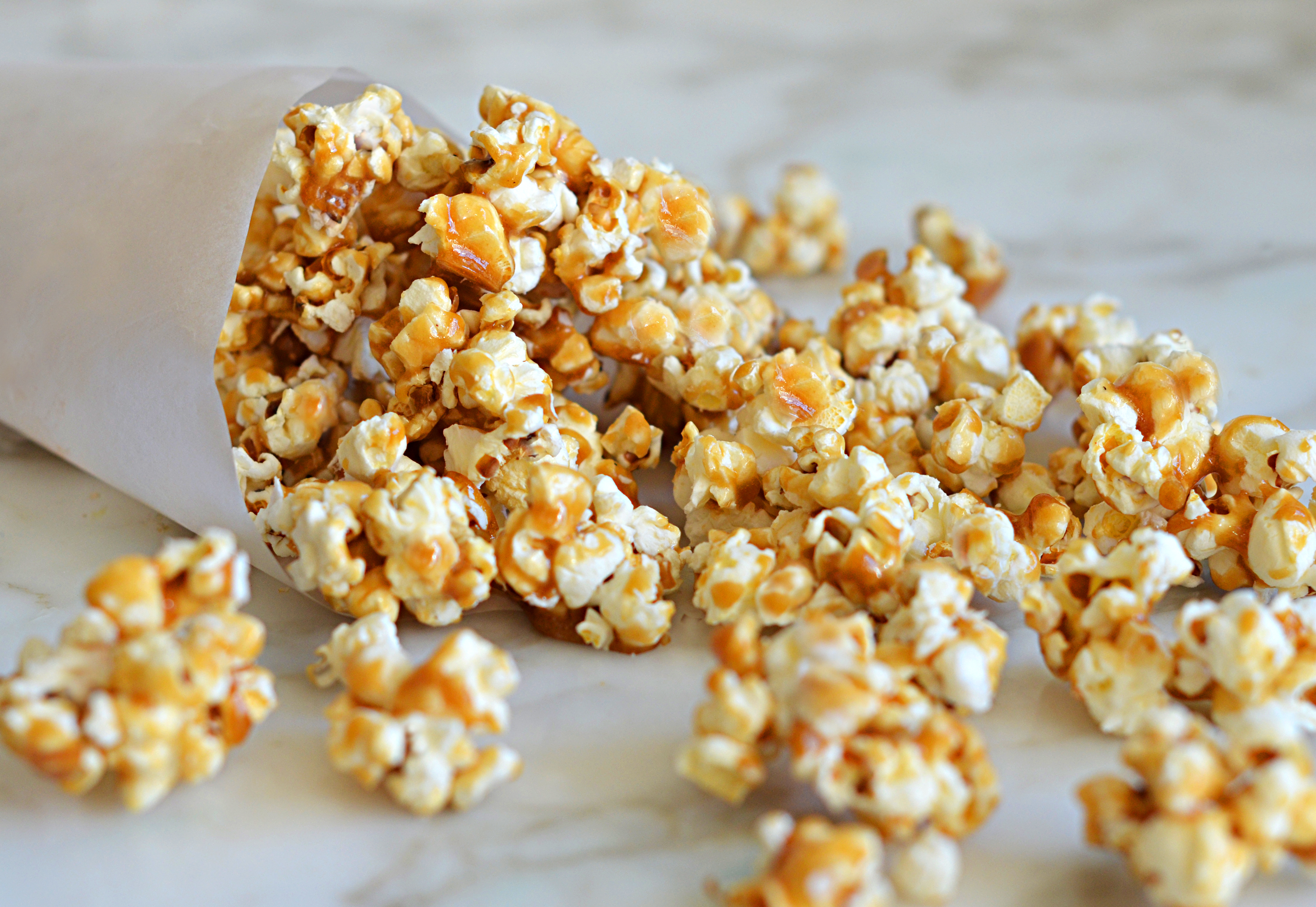 Homemade Caramel Corn Once Upon A Chef