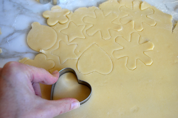 Holiday Cut Out Butter Cookies