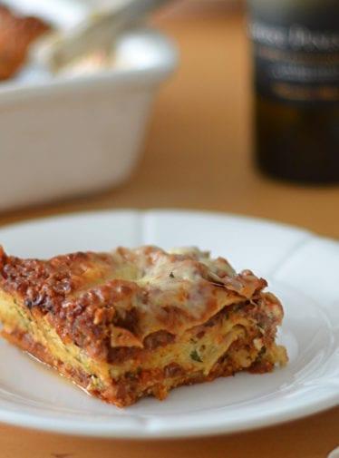 sausage lasagna
