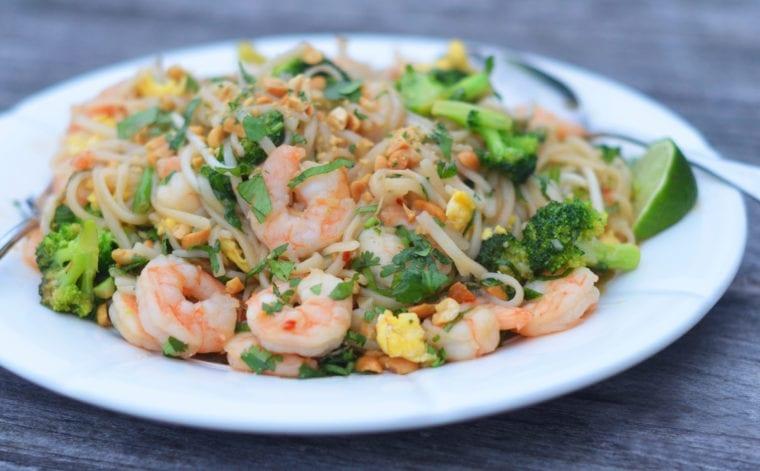 Shrimp Pad Thai Once Upon A Chef