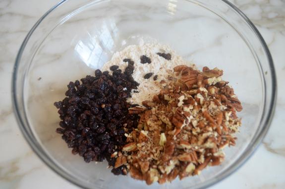 currants-pecans-flour