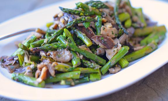 1-Wild-Mushrooms-&-Roasted-Asparagus