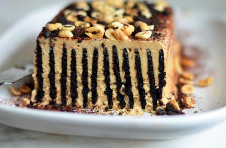 chocolate peanut butter icebox cake