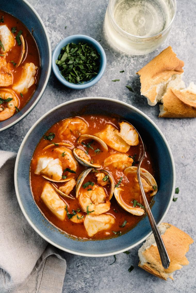 Cioppino (Fisherman's Stew)