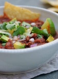 best ground beef chili