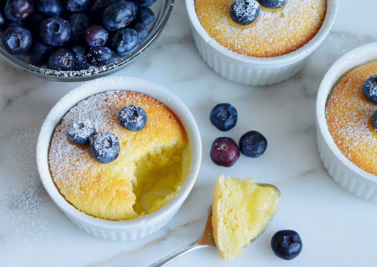 Warm Lemon Pudding Cakes Once Upon A Chef