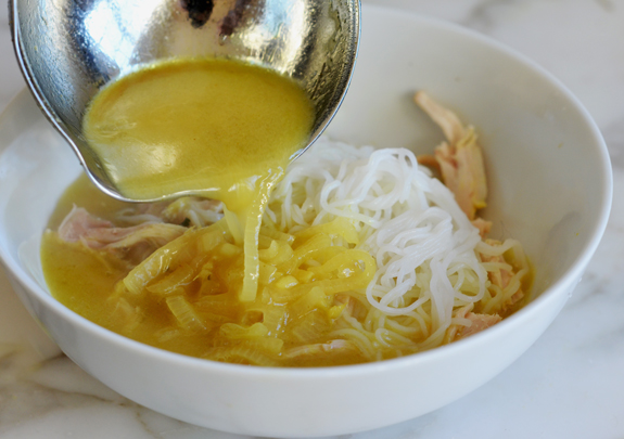 Thai Chicken Rice Noodle Soup Once Upon A Chef