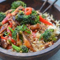 Chinese Vegetable Stir-Fry