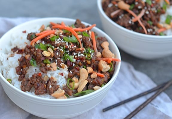 30 minute asian beef bowls once upon a chef asian beef bowls forumfinder Gallery