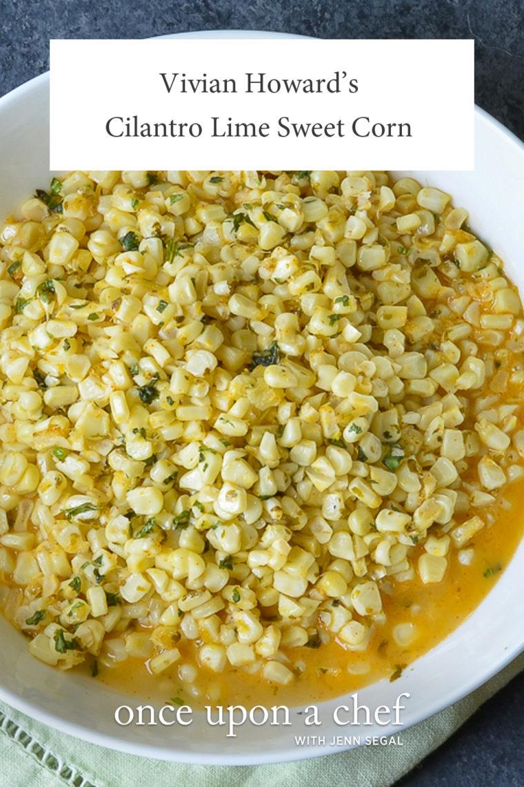 Cilantro Lime Sweet Corn