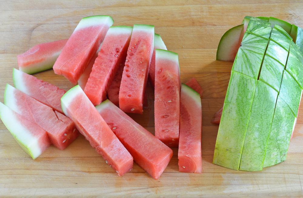 watermelon sticks