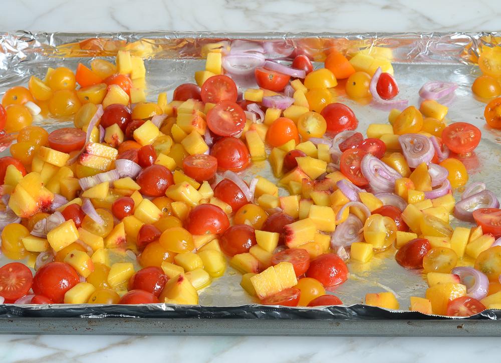 how to make tomato peach jam