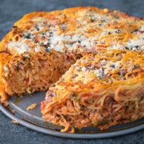 Gail Simmons' Epic Spaghetti Pie