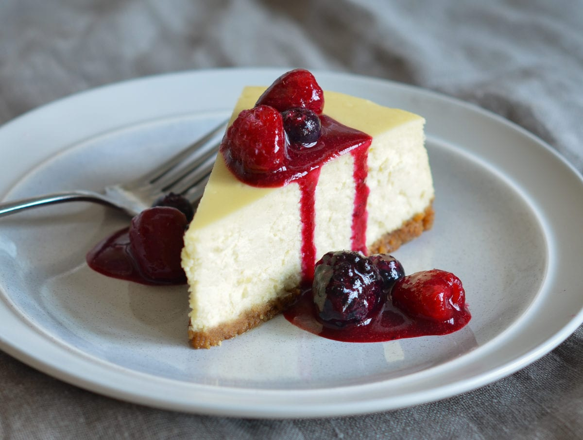 New York Style Cheesecake Once Upon A Chef