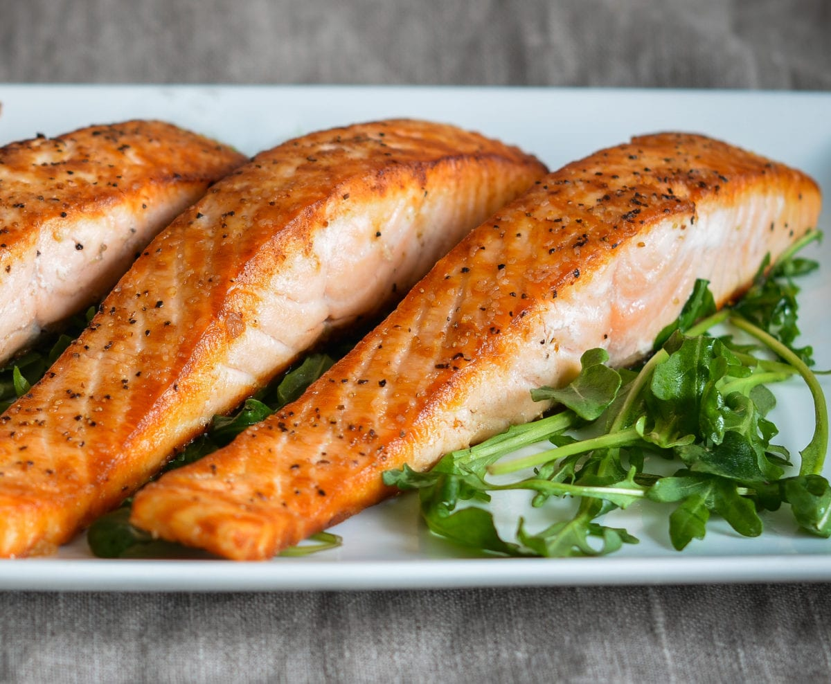 Salmon is fried. The recipe for its preparation