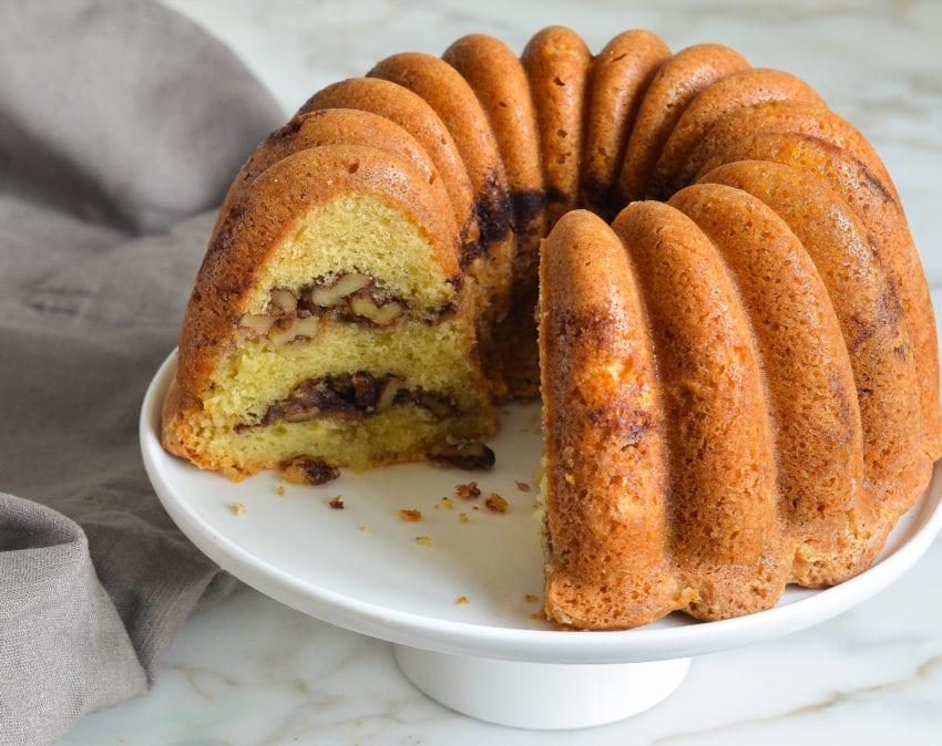Cinnamon Swirl Crumb Coffee Cake Recipe
