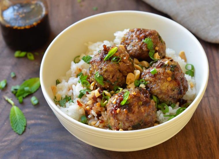 Vietnamese Style Meatballs