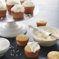 Honey's Coconut Cupcakes
