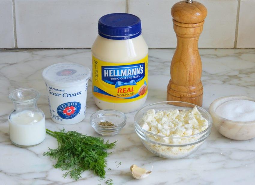 how to make creamy feta dressing