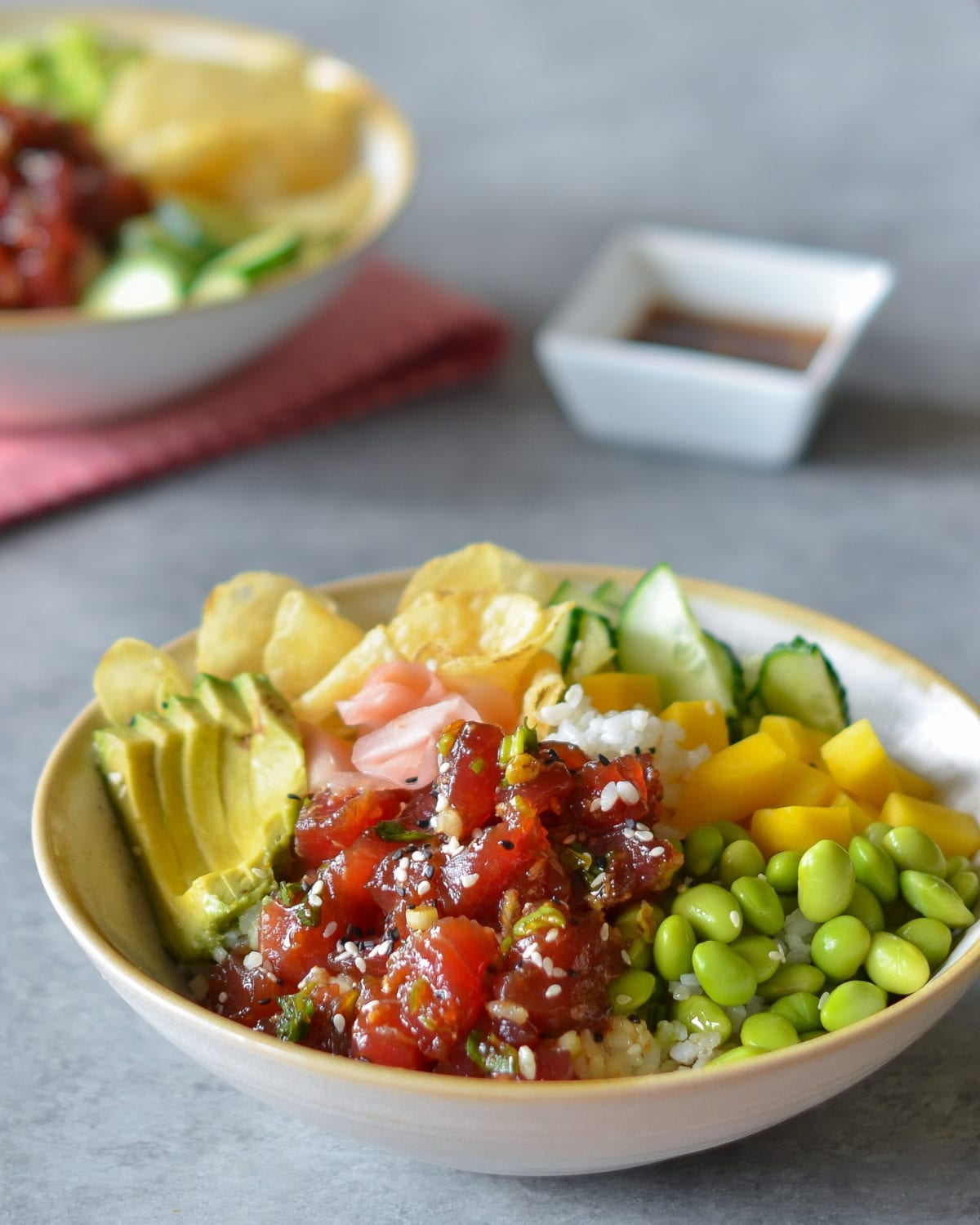 Tuna Poke Bowls Once Upon A Chef