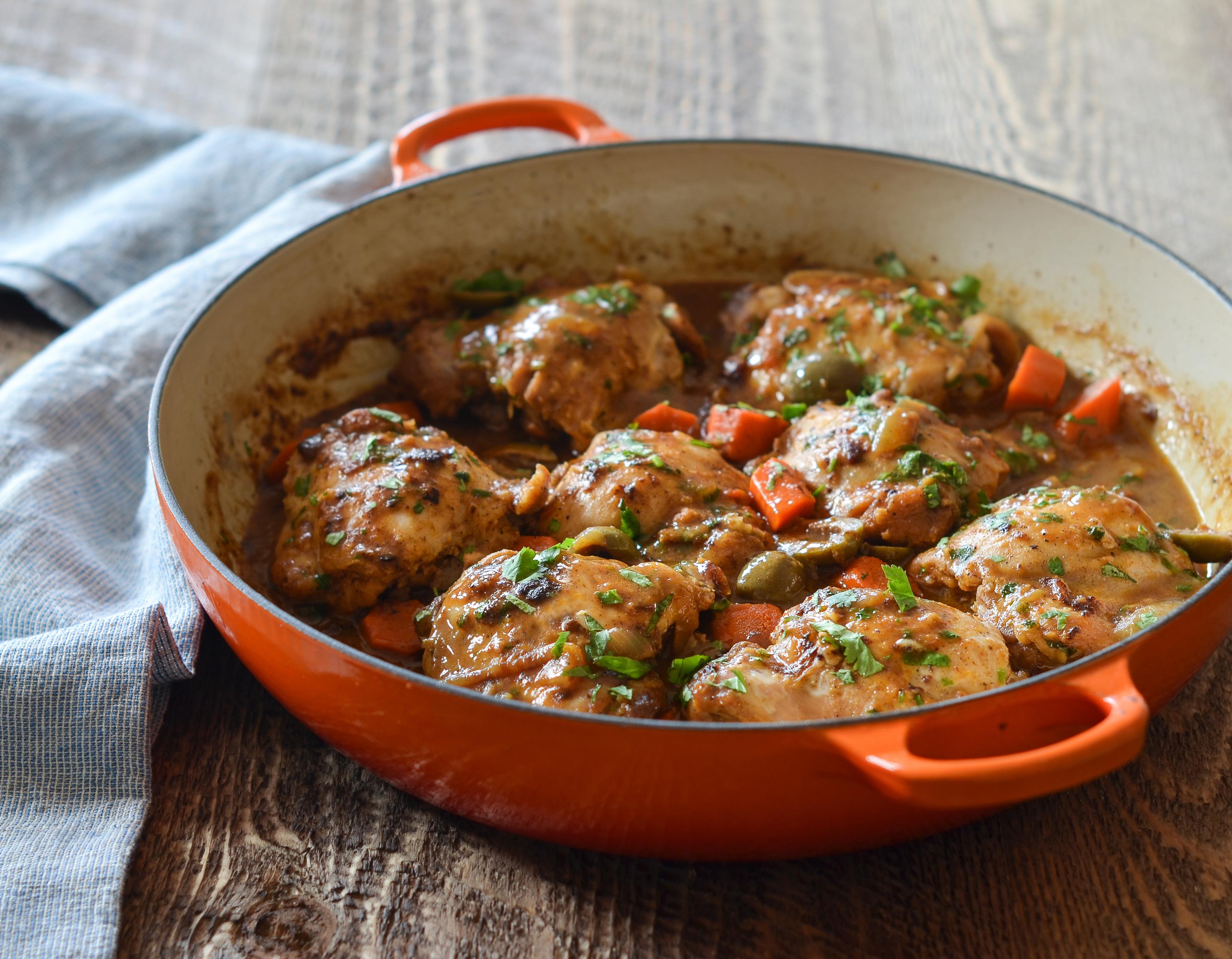 Moroccan Chicken Tagine