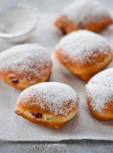 Sufganiyot (Israeli Donuts)