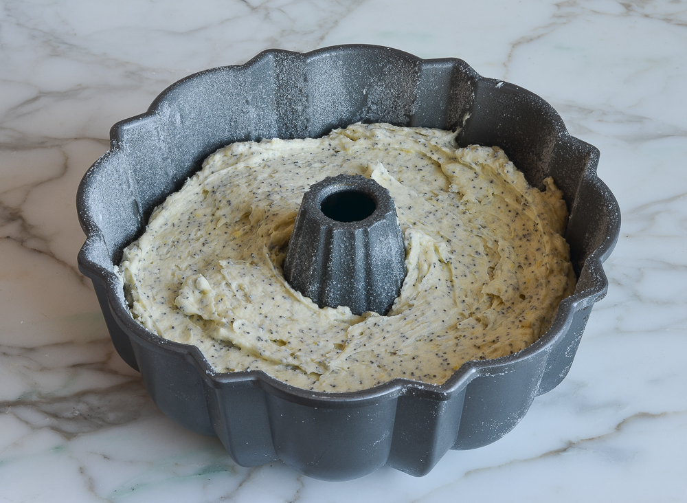 how to make lemon poppy seed cake