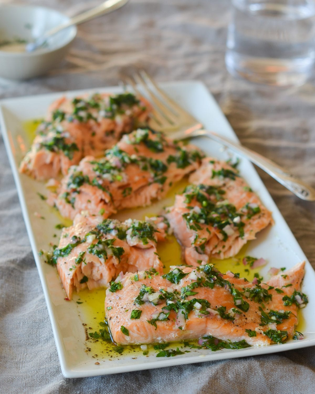 how to make slow roasted salmon