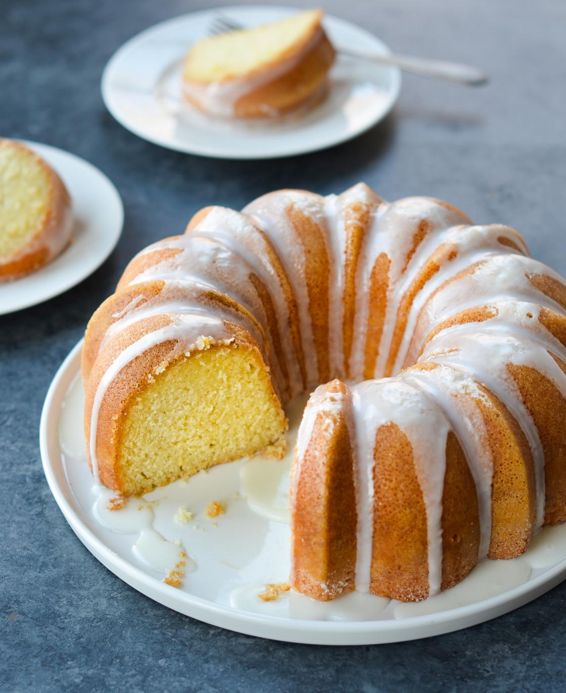 Trisha Yearwoods Lemon Pound Cake with Glaze » Call Me PMc