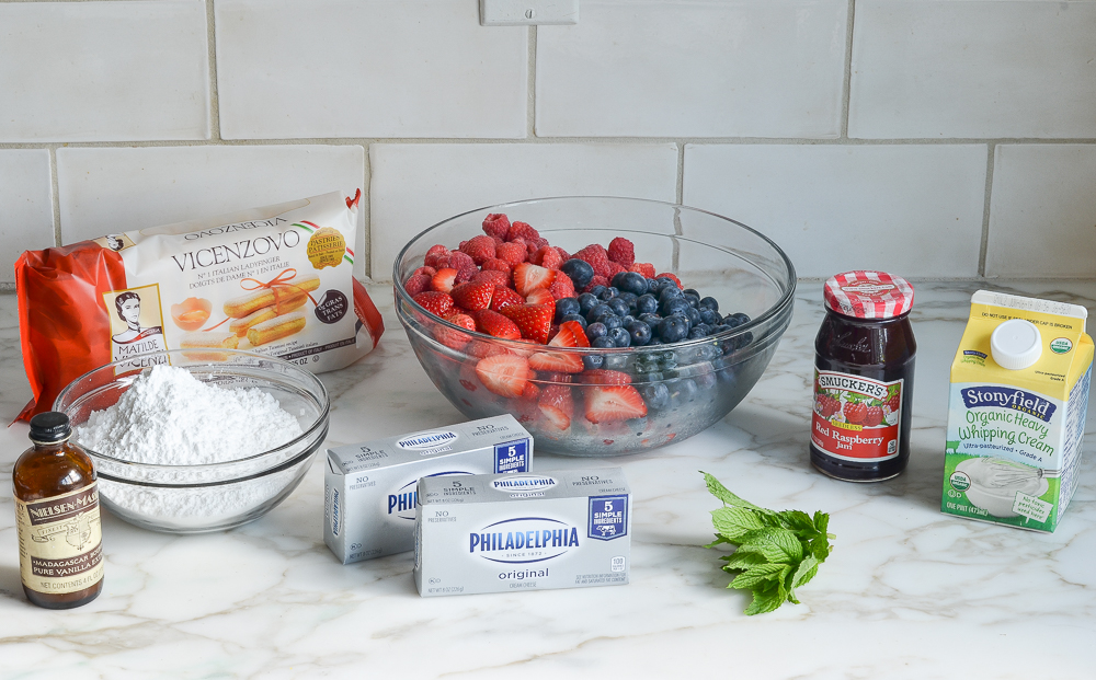 berry trifle ingredients