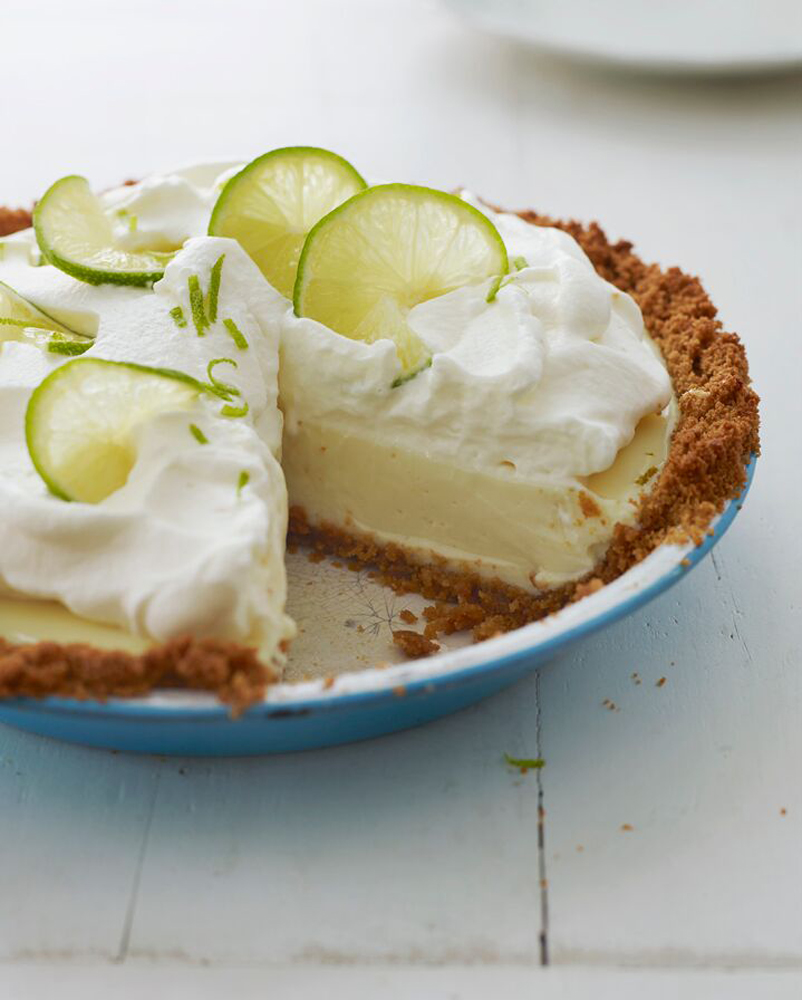 Key Lime Pie Decoration.Key Lime Pie
