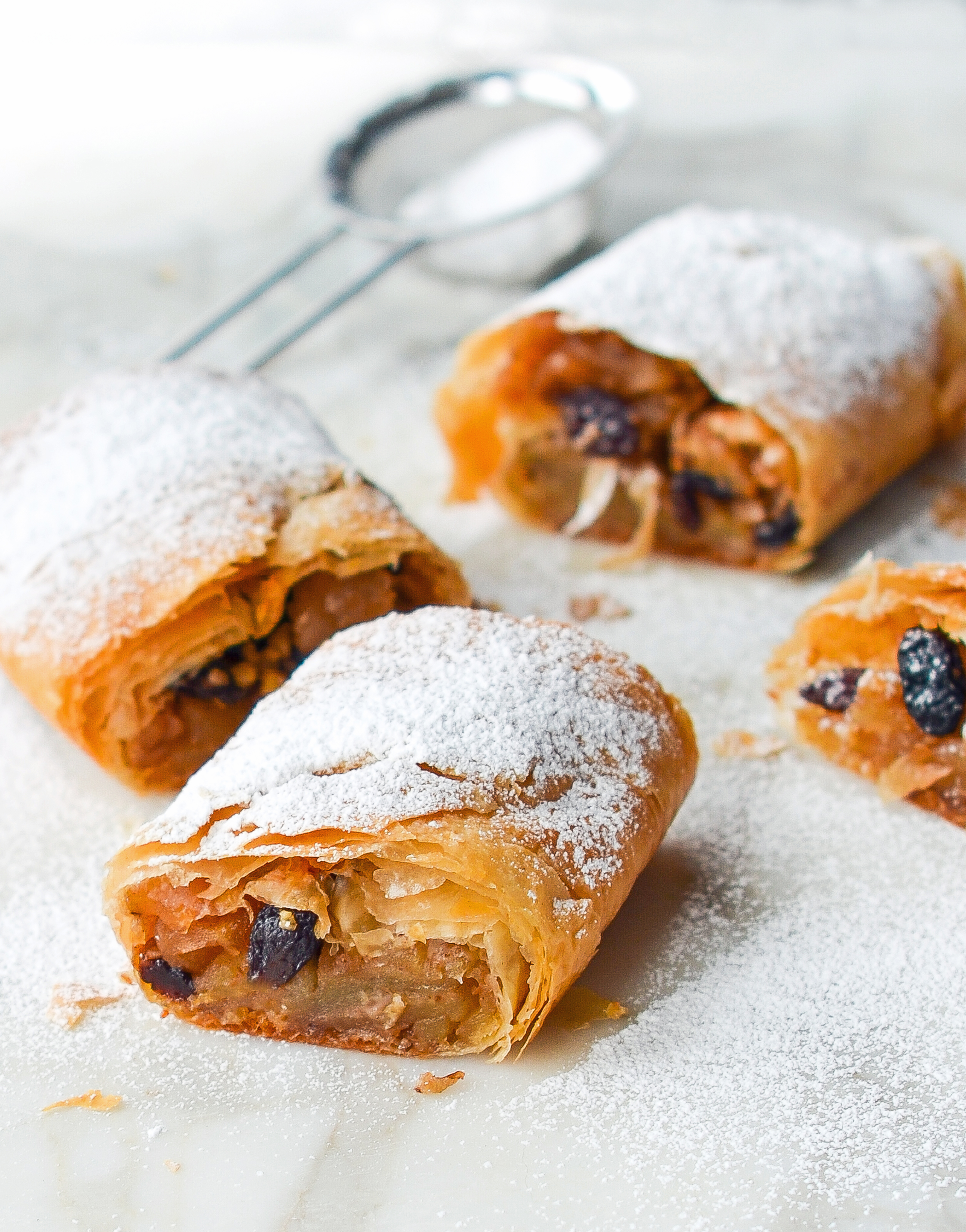Apple Strudel Once Upon A Chef