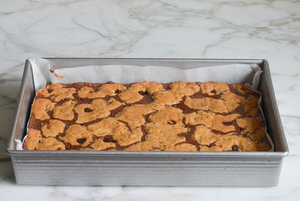 baked brookies