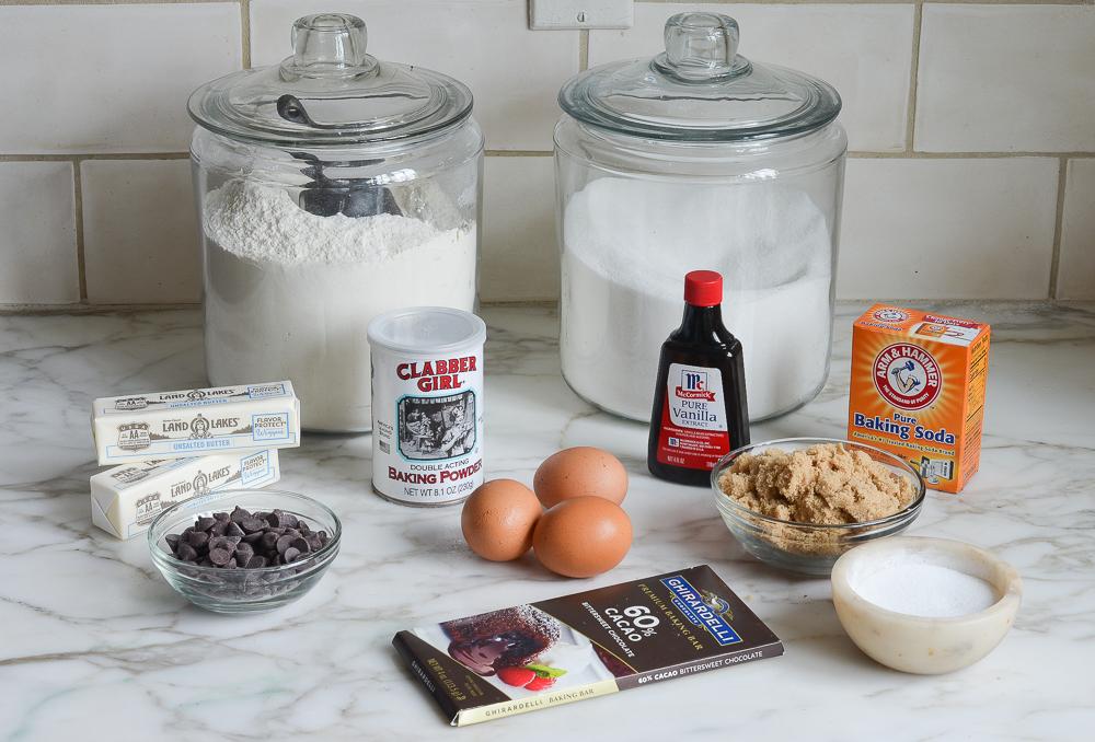 ingredients for brookies
