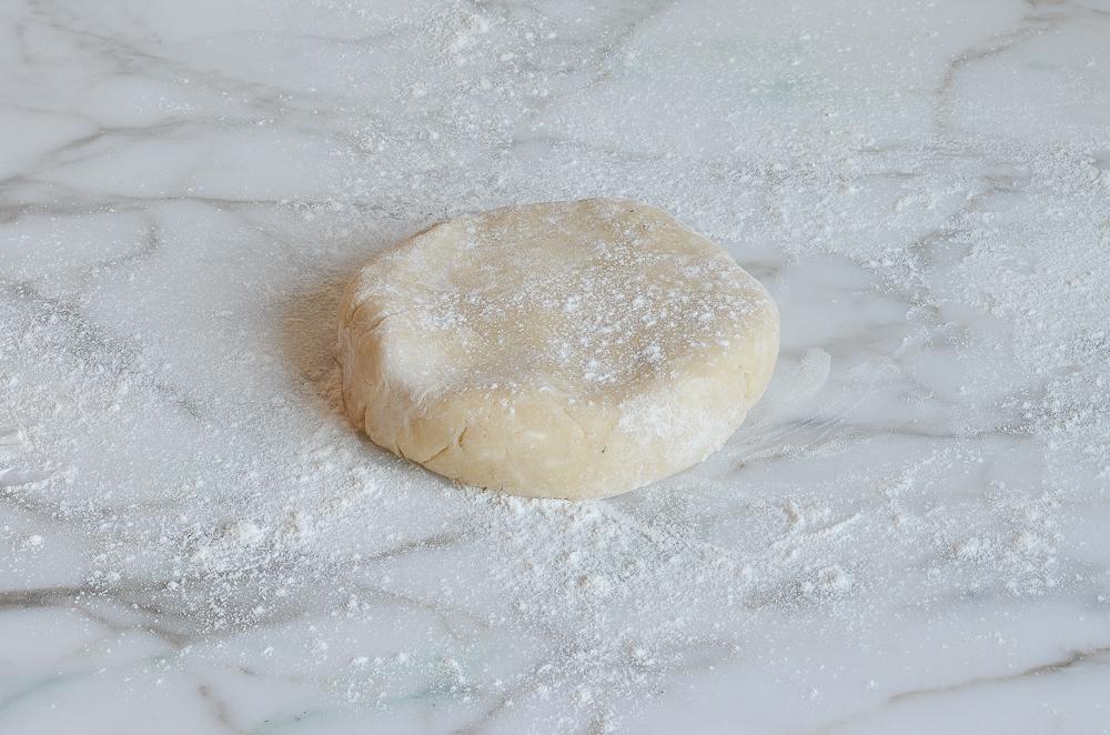 kneaded pie crust dough