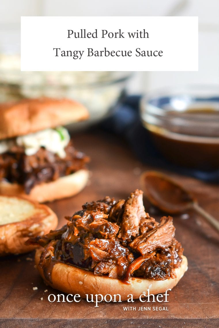 Pulled Pork with Tangy Barbecue Sauce